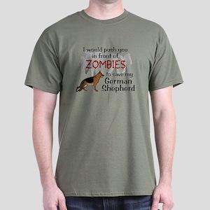 GSD vs Zombies T-Shirt