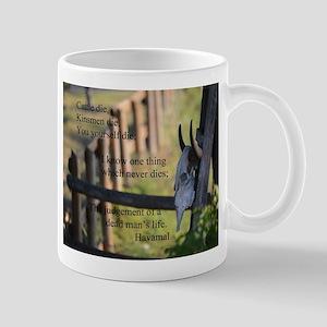 Havamal Saying Mugs