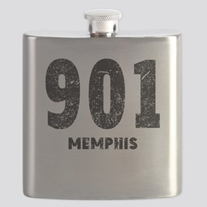 901 Memphis Distressed Flask