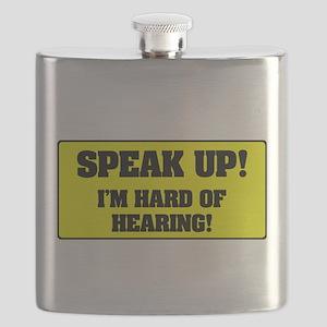 SPEAK UP - I'M HARD OF HEARING! Flask