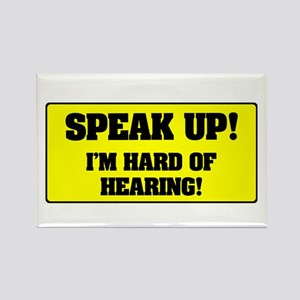SPEAK UP - I'M HARD OF HEARING! Magnets