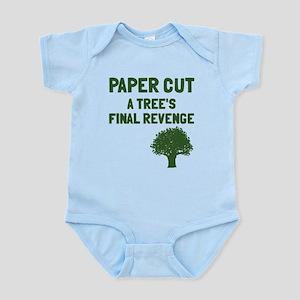 Paper cut tree's revenge Infant Bodysuit