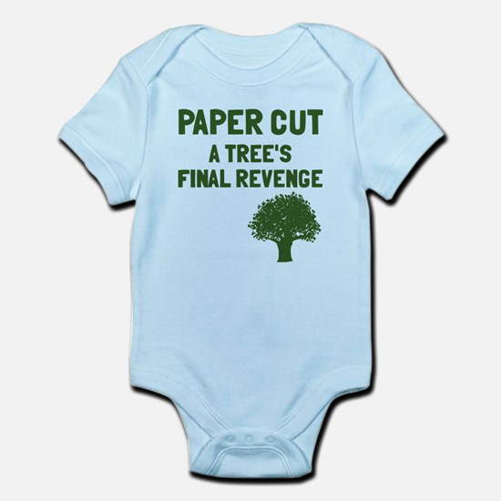 Paper cut tree's revenge Infant Bodysuit
