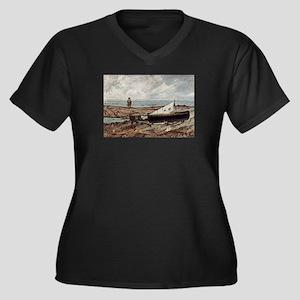 Giovanni Fattori - Der graue Tag Plus Size T-Shirt