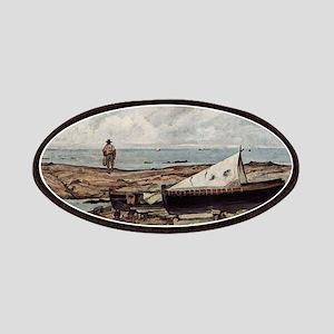 Giovanni Fattori - Der graue Tag (Strand mit Patch
