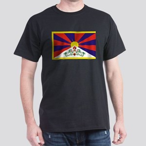 Tibetan Free Tibet Flag - Peu Rangzen T-Shirt