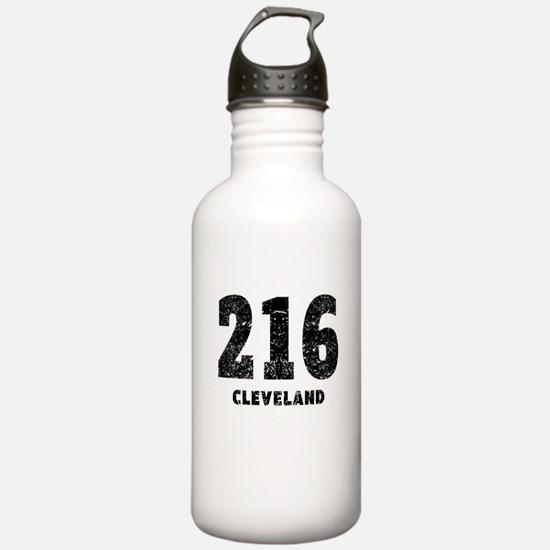 216 Cleveland Distressed Water Bottle