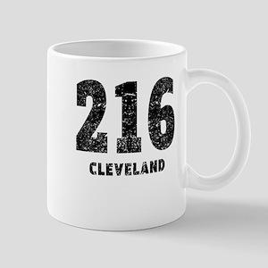 216 Cleveland Distressed Mugs