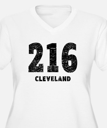 216 Cleveland Distressed Plus Size T-Shirt