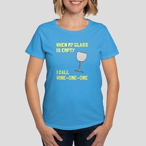 Wine one one Women's Dark T-Shirt