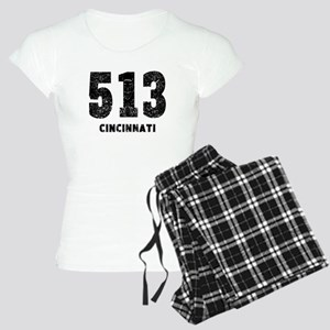513 Cincinnati Distressed Pajamas
