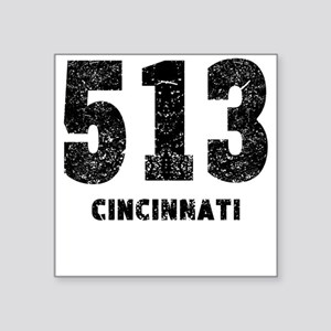 513 Cincinnati Distressed Sticker