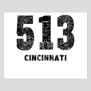 513 Cincinnati Distressed Posters