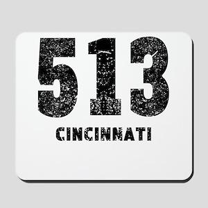 513 Cincinnati Distressed Mousepad