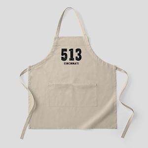 513 Cincinnati Distressed Apron