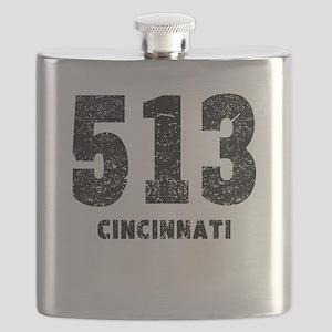 513 Cincinnati Distressed Flask