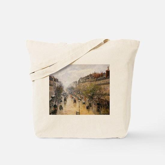 Camille Pissarro - Boulevard Montmartre S Tote Bag