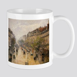 Camille Pissarro - Boulevard Montmartre Sprin Mugs