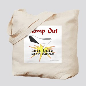 ORAL HEAD NECK CANCER AWARENESS Tote Bag