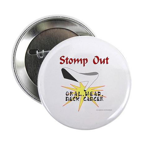 ORAL HEAD NECK CANCER AWARENESS Button