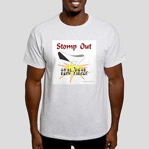 ORAL HEAD NECK CANCER AWARENESS Light T-Shirt
