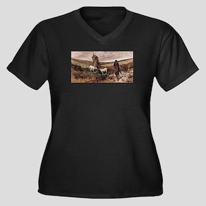 Giovanni Fattori - Berittener Hi Plus Size T-Shirt
