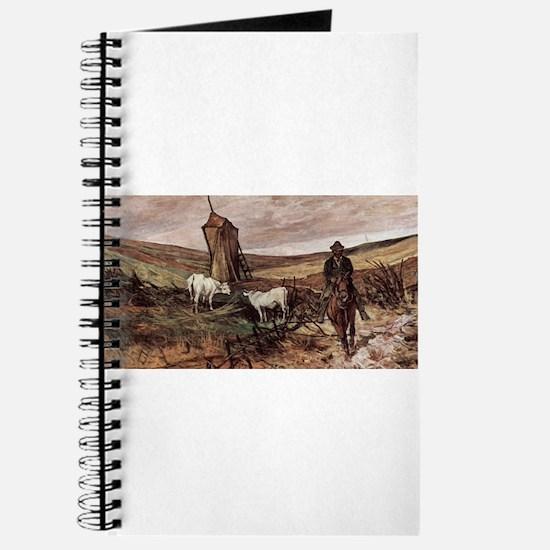 Giovanni Fattori - Berittener Hirte und Kü Journal