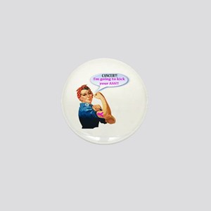 Rosie Fighting Cancer Design Mini Button