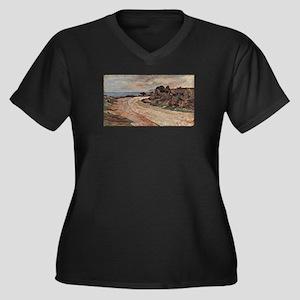 Giovanni Fattori - Strasse am Uf Plus Size T-Shirt