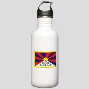 Tibetan Free Tibet Fla Stainless Water Bottle 1.0L