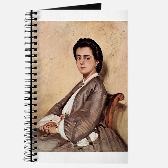 Giovanni Fattori - Porträt der Cousine des Journal