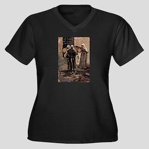Giovanni Fattori - Nonne mit Ese Plus Size T-Shirt