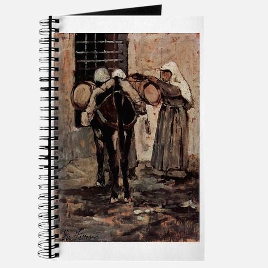 Giovanni Fattori - Nonne mit Esel Journal