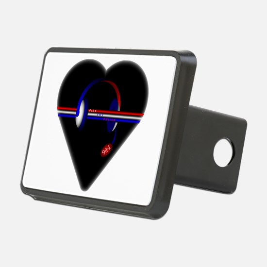 911 Dispatcher (Heart) Hitch Cover