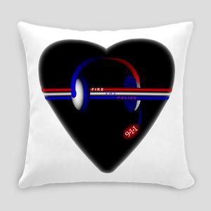 911 Dispatcher (Heart) Everyday Pillow