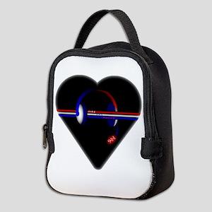 911 Dispatcher (Heart) Neoprene Lunch Bag