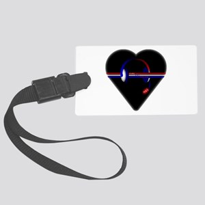 911 Dispatcher (Heart) Luggage Tag