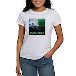 Green Turtle Wave Women's Classic T-Shirt