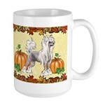 Chinese Crested 'pumpkin Spice' Mugs