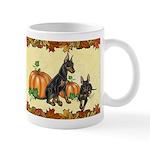 Manchester Terriers 'pumpkin Spice' Mugs