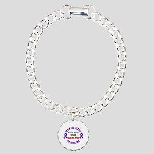 Break the Silence of Dom Charm Bracelet, One Charm