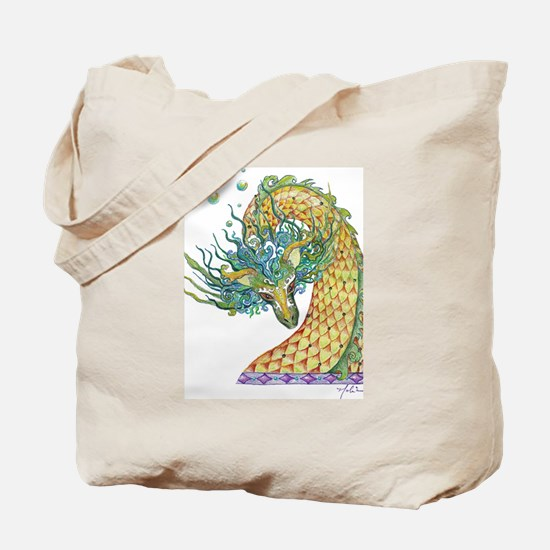 Unique Kids dragon Tote Bag