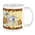 Bedlington Terriers 'pumpkin Spice' Mugs