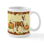Ibizan Hound 'pumpkin Spice' Mugs
