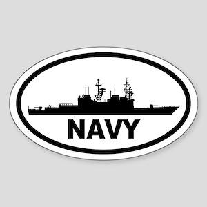 NAVY Destroyer Oval Sticker
