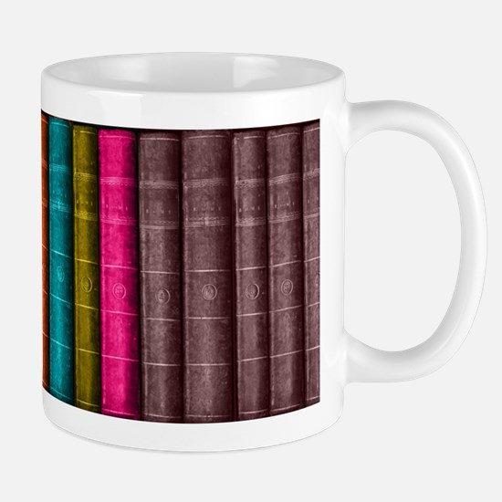 VINTAGE BOOKS one shelf Mugs