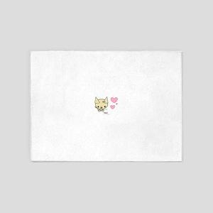 CUTIE-KINS ™ Precious Boutique-Pup 5'x7'Area Rug