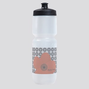 Cute Chic Anemone Sports Bottle