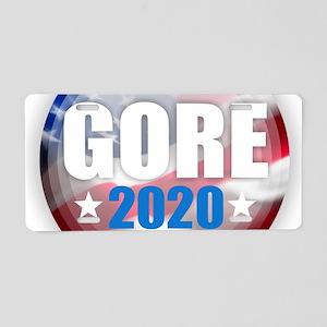 Al Gore 2020 Aluminum License Plate