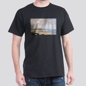 Eugene Boudin - Beach at Trouville T-Shirt